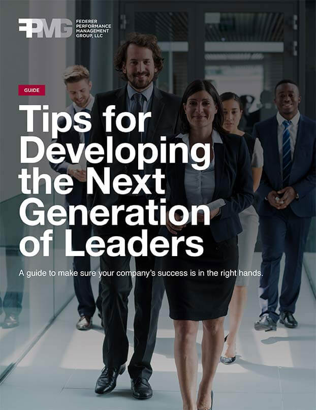 Tips for Developing the Next Generation of Leaders